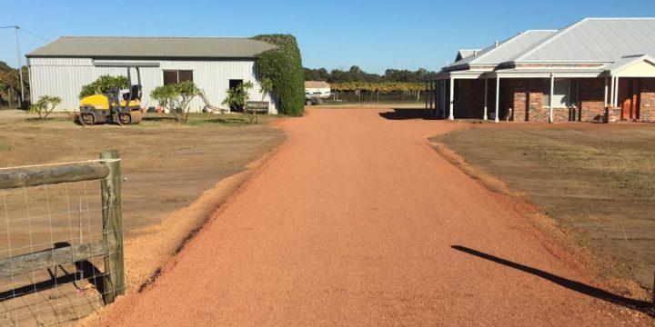 New Bitumen Driveway